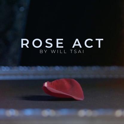 Visual Matrix AKA Rose Act Elegant Gold (Gimmick and Online Instructions)
