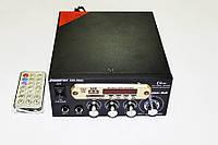Усилитель звука Bosstron ABS-805U USB+SD+FM+Karaoke Черный (4_618776308), фото 1