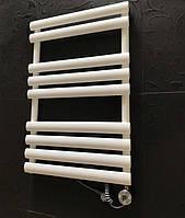 Белый комбинированный полотенцесушитель с ТЭНом 545х820 MIRAMAR 9/820 S Arttidesign