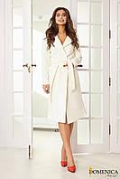 Пальто женское, цвет: Белый, размер: L