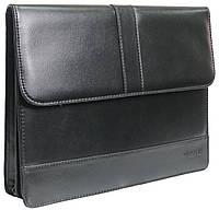 Папка для документов из эко кожи 4U Cavaldi PB0805 черная, фото 1