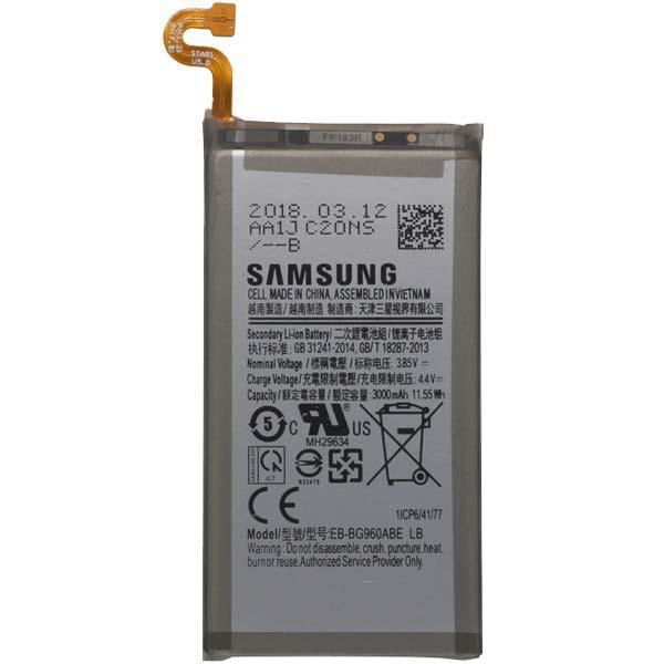 Аккумулятор Samsung EB-BG960ABE G960F Galaxy S9, 3000 mAh Оригинал