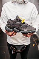 "Мужские кроссовки Adidas Yeezy Boost 500 «Utility Black"" (Реплика ААА+)"