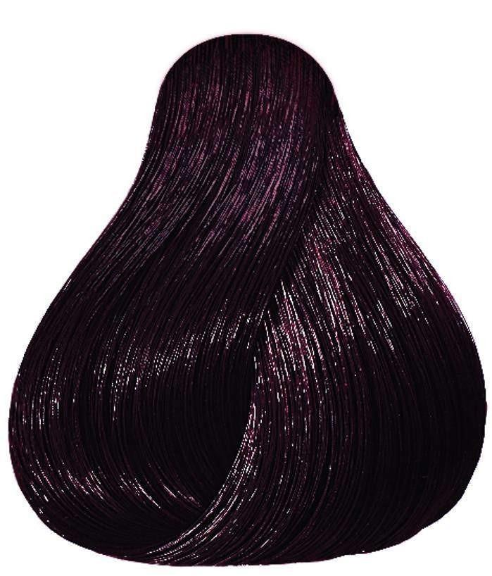 Перманентная краска для волос Londacolor Permanent 60 мл 3/5  темный шатен красный