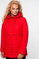 Куртка Элеонора 58-64 - Алый №204