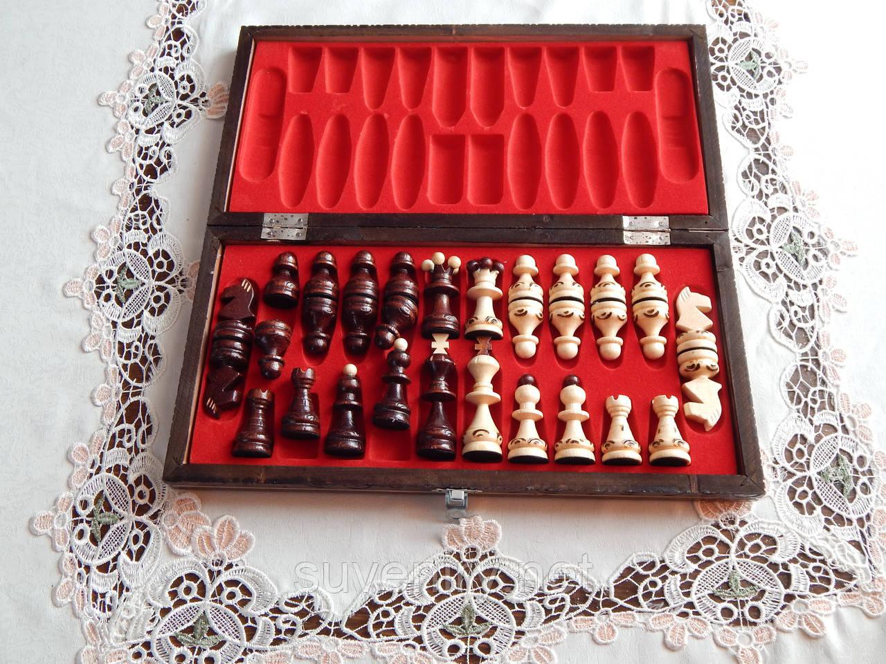 Деревянные шахматы 41*41см