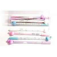 """Ручка гелевая """"WB"""" """"Фламинго с цветным корпусом"""" 0,38мм синий 13332"""
