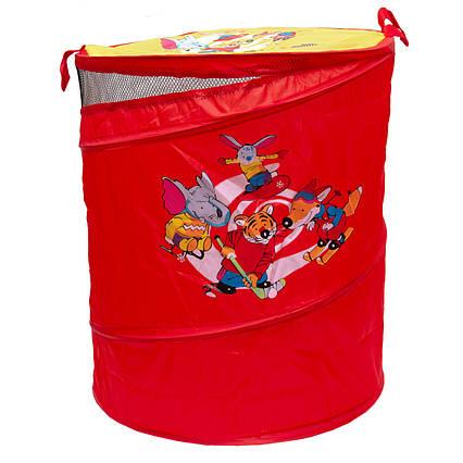 Корзина для игрушек красная (Т0303B)