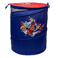 Корзина для игрушек, 46*75 см, синий, полиэстер (Т0303C)
