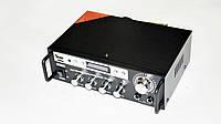 Підсилювач звуку UKC SN-555BT FM+USB Bluetooth Karaoke Чорний (4_749307598), фото 1