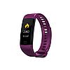 Умный фитнес браслет SENOIX Y5 с тонометром (Фиолетовый)