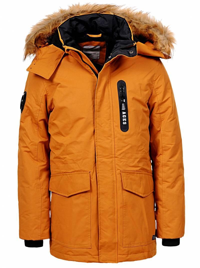 Теплая зимняя подростковая куртка-170