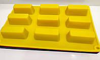 Форма для евродесертов и глазированных сырков Прямоугольник 9 шт, фото 1