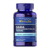 GABA Puritans Pride 750 мг - 90 капсул