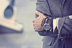 Мужские браслеты Томас Сабо стиля Thomas Sabo