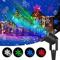 Лазерный проектор Star Shover COLOR Snowflake