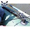 Подставка для удилища для надувной лодки (ОСНОВА держатель для удочек на 3 удочки) из водостойкой фанеры, фото 2