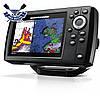 Четырехлучевой эхолот Humminbird Helix 5 CHIRP SI GPS G2 поддержка карт, слот д/карты, GPS навигатор, до 450 м, фото 3