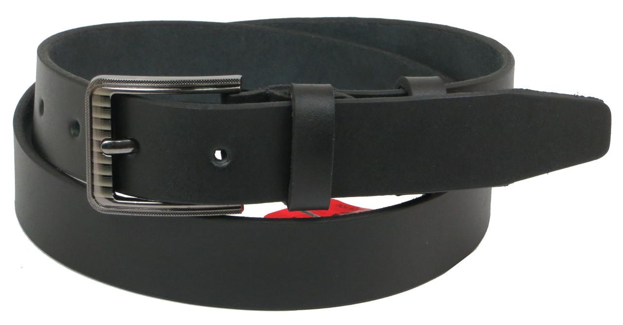 Брючный кожаный ремень Skipper 1204-33, 121х3,3 см, фото 1