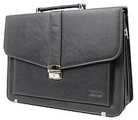 Портфель деловой из эко кожи Verto A13A1 серый, фото 1