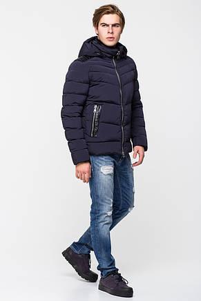 Тёплая мужская куртка со съёмным капюшоном CW17MD112CK, фото 2