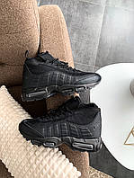 Мужские зимние кроссовки Nike Air Max Sneakerboot 95 Black