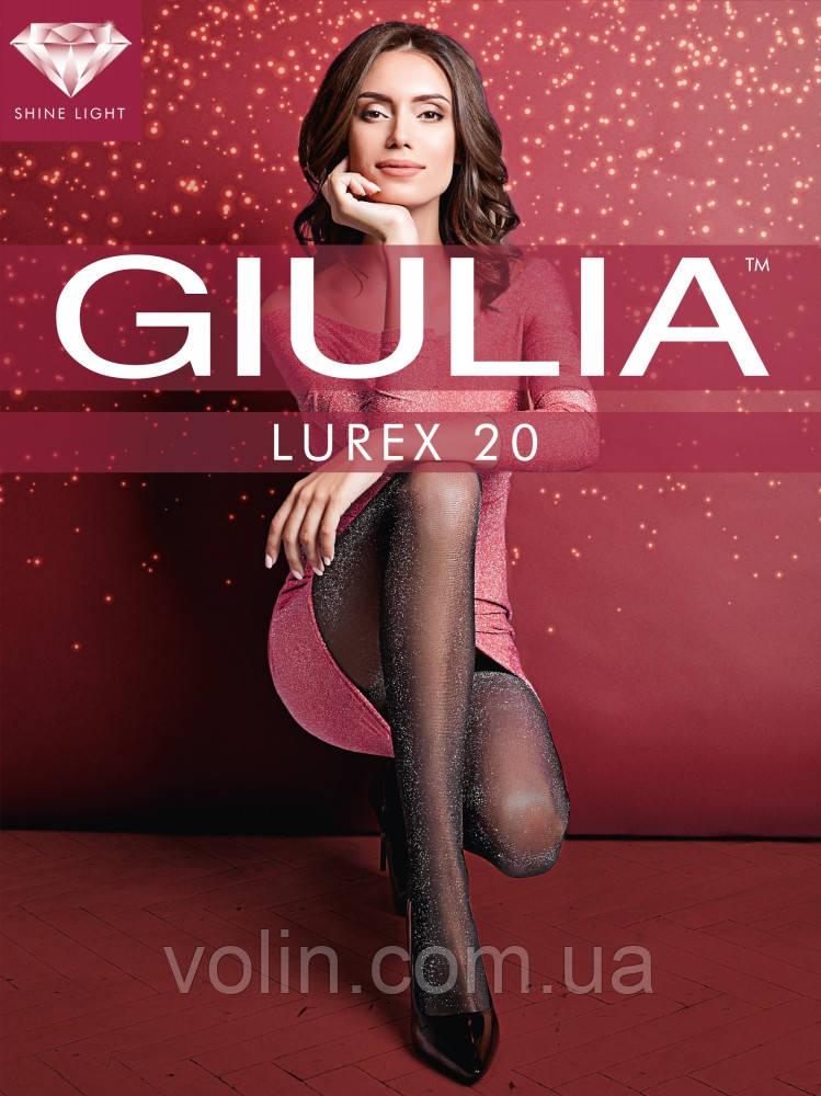 Колготки женские Giulia Lurex 20.