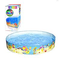 Детский каркасный бассейн 56451 SH INTEX | бассейн для ребенка Интекс 370 л