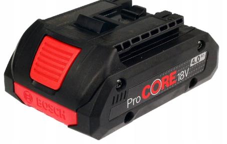 Литий-ионный аккумулятор ProCORE BOSCH 18V 4,0Ah