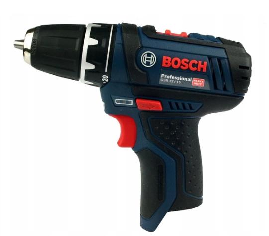 Аккумуляторная отвертка BOSCH GSR 12V-15 (корпус - без батарей и без зарядного устройства).