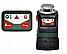 Самовыравнивающийся линейный лазер на 360º с дополнительной вертикальной линией PLL 360 BOSCH, фото 5