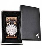 Кварцевые часы-зажигалка 4093 Подарочная зажигалка-часы Оригинальный аксессуар ХИТ лета Практичный подарок