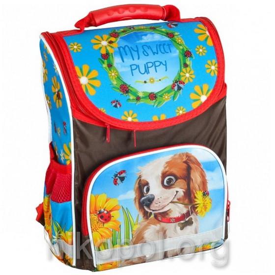 """Рюкзак школьный """"SMILE - Мой милый щенок"""", ортопедический, коробка 34,5х25,5х13см."""