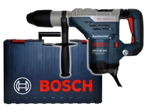 Перфоратор с держателем BOSCH Professional GBH 5-40 DCE SDS-Max