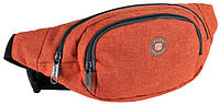 Поясная сумка Paso 16-590P оранжевый