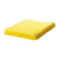 HÄREN Банное полотенце, ярко-желтый, 70х140
