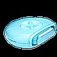 Туристическая бритва Sphynx Travel Razor для депиляции 3 в 1 Голубая | дорожная бритва, фото 5