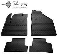 Автомобильные коврики Jeep Cherokee KL 2013- Stingray комплект черный