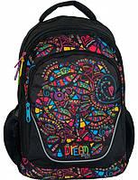 Молодежный рюкзак с абстракцией PASO 24L, BDE-367, фото 1