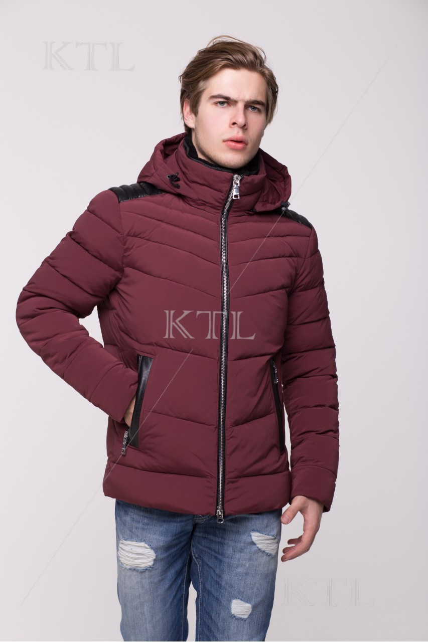 Тёплая мужская куртка со съёмным капюшоном CW17MD112CK