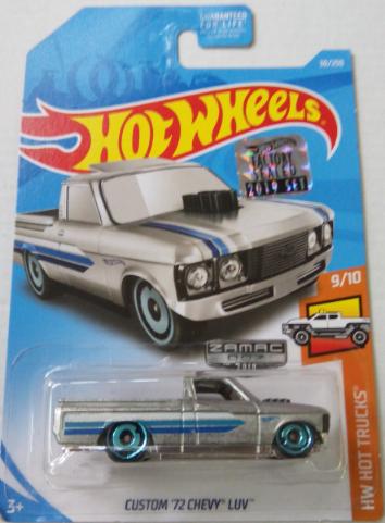 Машинка Hot Wheels Zamac Custom '72 Chevy LUV