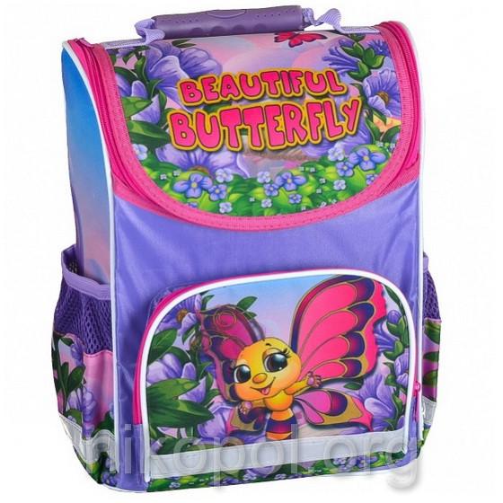 """Рюкзак школьный """"SMILE - Прекрасная бабочка"""", ортопедический, коробка 34,5х25,5х13см."""
