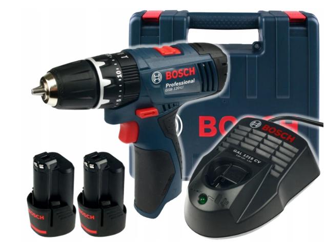 Аккумуляторная отвертка BOSCH Professional GSB 120-LI
