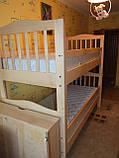 """Двухъярусная кровать """"Маряна"""" с ящиками (массив бука), фото 5"""