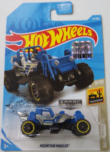 Машинка Hot Wheels Zamac Mountain Mauler