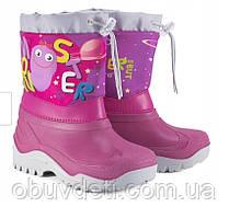 Дитячі сноубутсы для дівчинки муфлон 27-28 р-18 см