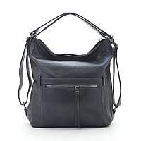 Функциональная женская сумка-рюкзак Little Pigeon, черная.
