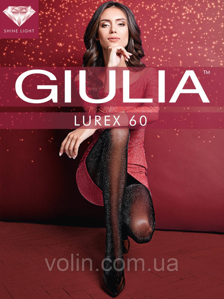 Колготки женские Giulia Lurex 60.