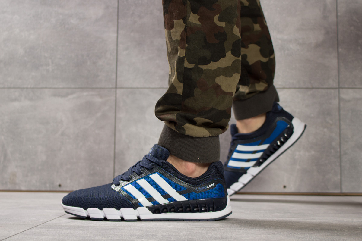 Кроссовки мужские Adidas Climacool, темно-синие (16083) размеры в наличии ► [  41 45  ], фото 1