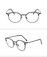 Kомп'ютерні окуляри Flower Black | Имиджевые очки для компьютера